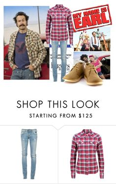"""""""We ♥...My Name is Earl"""" by eristunney ❤ liked on Polyvore featuring RoÃ¿ Roger's, Polo Ralph Lauren, Vegetarian Shoes, women's clothing, women's fashion, women, female, woman, misses and juniors"""
