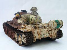 Iraqi T-55m 1/35 Scale Model