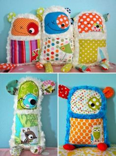 ..Scrap Fabric Monsters