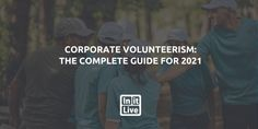 Corporate volunteerism is a powerful chance for businesses to improve the workplace. Here's how to take full advantage of corporate volunteer programs. Volunteer Management, Management Tips, Volunteer Programs, Volunteer Work, Company Benefits, Team Morale, Positive Work Environment, Employee Retention, Social Capital