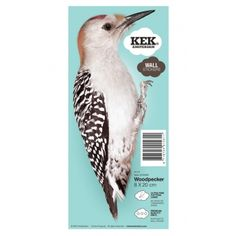 KEK Amsterdam birds Walltattoo Woodpecker for 6,95€