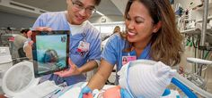 Wellthy - iPads connect new moms with babies in intensive care Dubbed BabyTime, a new scheme at the Cedars-Sinai Medical Center in Los Angeles aims to enable hospitalized moms to check on and interact with their newborns in intensive care.