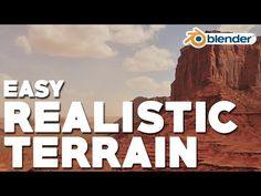 Easy Realistic Terrain (Part 2 - Desert Mountain) Animation Reference, Anatomy Reference, Pose Reference, Blender 3d, Blender Character Modeling, 3d Modellierung, Pencil Drawing Tutorials, Drawing Tips, Create Animation