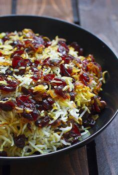 Persian Saffron Rice Pilaf