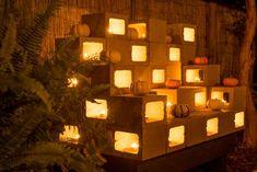 8 Kreative Methoden, Um Zementblöcke In Ihrem Garten Einzusetzen