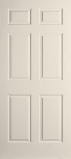 Smooth Semi Solid 6 Panel. Our Smooth Surface Doors Let You Give Your Home