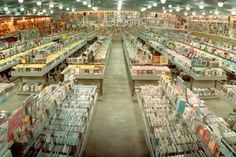 Amoeba Music, San Francisco. I could literally spend a whole day in here!