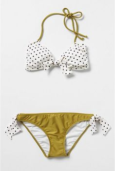 Cute summer bikini. #anthropologie