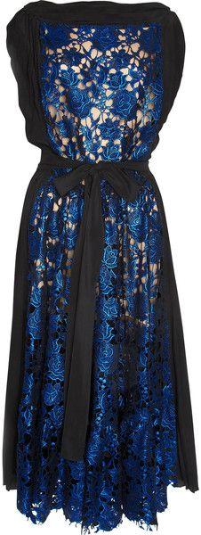 VIONNET PARIS   Metallic Lace Dress - Lyst