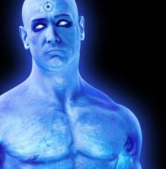 Billy Crudup as Dr Manhattan, Watchmen (2009)