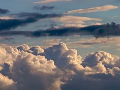 Cumulus Clouds -pretty