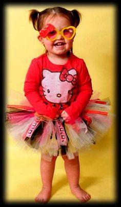 Custom Hello Kitty tutu outfit by GingerSnaps Tutus, Etc.