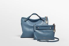 With its signature draped look, the versatile Mikkeline has been updated with refined details for fall. A detachable strap means it can be held by the handles or worn as a crossbody bag. For when you need a more sophisticated look, simply remove the straps and grab the handles. Stitched inside, two slip pockets and an interior zip pocket hold everything you need.