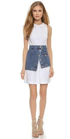 SJYP Denim Peplum Belt / Skirt | SHOPBOP