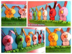 #preschool #okulöncesi #kindergarten #rabbit #sanatetkinliği #kidscraft #tavşan