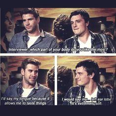 Josh and Liam