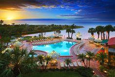 My favorite beach destination-  Sheraton Sand Key Resort, Clearwater Beach Florida