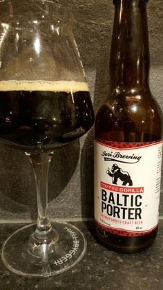 Sori Brewing Baltic Porter. Watch the video beer here…