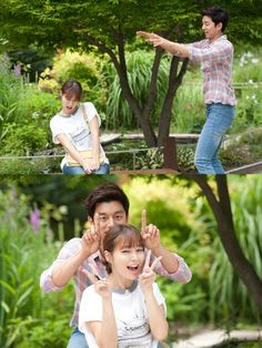 Gong Yoo and Lee Min Jung in Big #kdrama #big #gongyoo #leeminjung  hahah I loved this part^^ I miss Big ;; merr