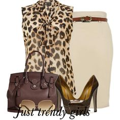 """pencil skirt"" by pinkfashion2 on Polyvore"