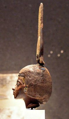 Queen Tiye (1398 - 1338 BC) Great Royal Wife of the Pharoah Amenhotep III. Mother of Akhenaten and grandmother of Tutankhamun.