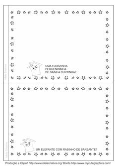 Dia da Poesia Livrinho com a poesia Quem Mora de Maria Mazetti para ilustrar