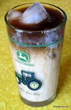 make your own iced coffee.
