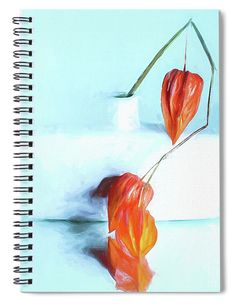 """This x spiral notebook features the artwork """"Pure """" by Mona Stut on the cover and includes 120 lined pages for your notes and greatest thoughts. Notebooks For Sale, Fine Art America, Pure Products, Friends, Artwork, Painting, Color, Amigos, Work Of Art"""