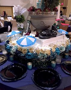 Details of our movie-themed table! #eventplanner