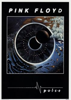 ☮ American Hippie Classic Rock Music ~ Pink Floyd . . . Pulse poster
