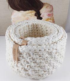 Conjunto de cestas en punto bajo combinado