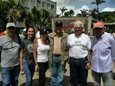 """CDCH estuvo presente en el evento """"Unamos nuestras voces por la paz en Venezuela"""" que se llevó a cabo el pasado 4 de junio en la Plaza del Rectorado """"Jesús María Bianco"""" de la UCV"""