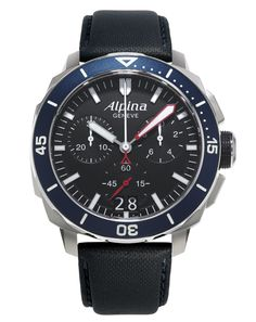 Seastrong Diver 300 Big Date Chronograph (ref. AL-372LBN4V6) – The Official Alpina Web Store