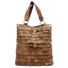 Upcycled leather bag -- Brilliant! (from Dama Handbags)