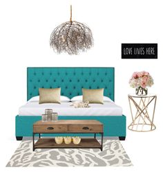 """Teal Tumbleweed"" by kateums-love on Polyvore featuring interior, interiors, interior design, home, home decor, interior decorating, Somerset Bay, Murphy, Pier 1 Imports and Diane James"