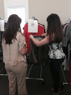 Fashion stylist Sara Zamikoff at the 2nd Annual Women's Business Makeover