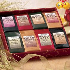 #Coffee lovers will enjoy receiving such an assortment! This Item can not be shipped to the following locations: Canada