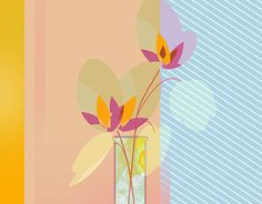 """Check out new work on my @Behance portfolio: """"Flowers and Vases"""" http://be.net/gallery/45882693/Flowers-and-Vases"""