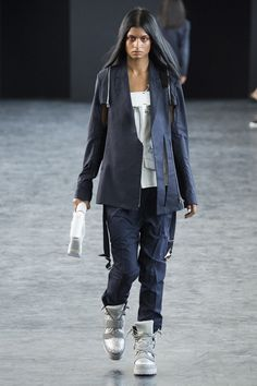 Paris Fashion Week Day 1 Hood by Air Spring/Summer 2015  Ready to wear  23 September 2014