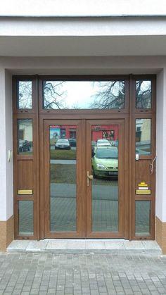 Plastové dveře - Napajedla Types Of Doors, Plastic, Windows, Water, Gripe Water, Ramen, Window