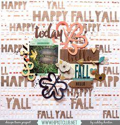 Hello Fall - Scrapbook.com