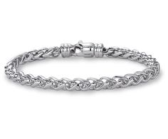 Wheat Bracelet in Sterling Silver | Blue Nile