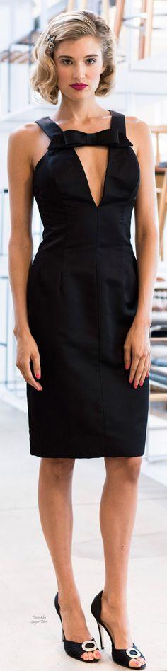 Barbara Tfank Spring/Summer 2015 Ready-To-Wear Look 8 Women's Dresses, Trendy Dresses, Evening Dresses, Short Dresses, London Fashion Weeks, Traje A Rigor, Lil Black Dress, Spring Summer 2015, Fall 2015