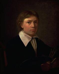 Constantin Hansen (1804-1880) - Self-Portrait 1825