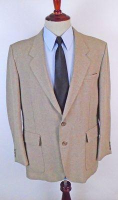 15b9a6cf0 Levis Action Suit Jacket Blazer Sport Coat Mens size 44R Western Single  Vent #Levis #