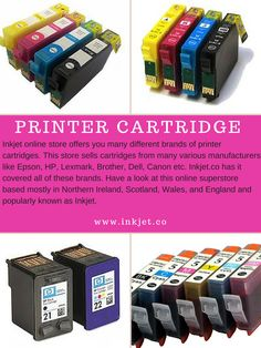 Inkjet supply top quality printer cartridges that are compatible with all of the leading printer brands: HP, Epson, Canon, Lexmark, Brother, Samsung and more. We are so confident that our #PrinterCartridge will match, or perform even better than printer branded cartridges that we offer a 100% satisfaction guarantee.