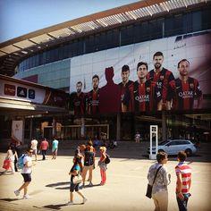 Camp Nou - Barcelona, Spain