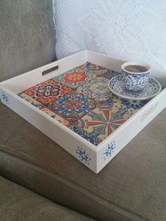 My handmade tray