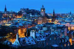Good morning Edinburgh! Photo by Tom at Sunrise Scotland