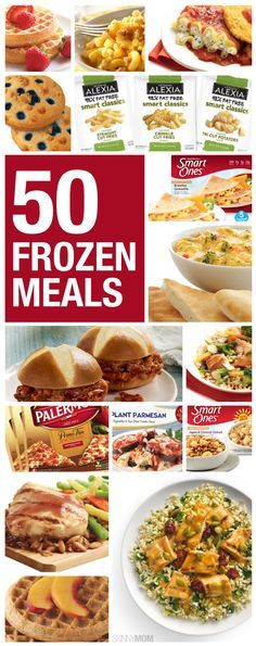 50 healthy and delicious frozen meal options!
